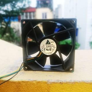 Quạt tản nhiệt Delta 12VDC 0.6A 4pin PWM