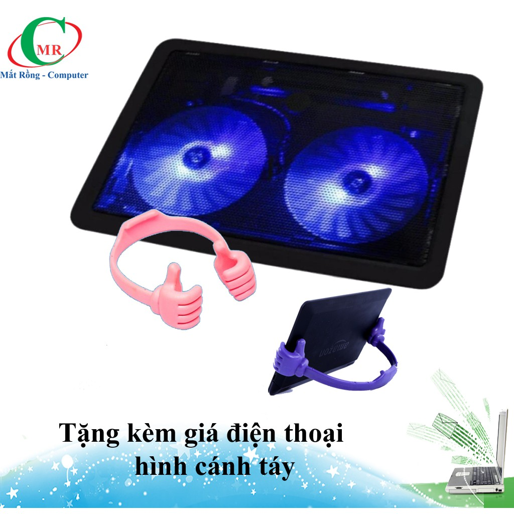 [Tặng kèm giá đỡ cánh tay] Đế tản nhiệt Q13-2 có đèn led đẹp mắt - 3494100 , 1040633631 , 322_1040633631 , 160000 , Tang-kem-gia-do-canh-tay-De-tan-nhiet-Q13-2-co-den-led-dep-mat-322_1040633631 , shopee.vn , [Tặng kèm giá đỡ cánh tay] Đế tản nhiệt Q13-2 có đèn led đẹp mắt