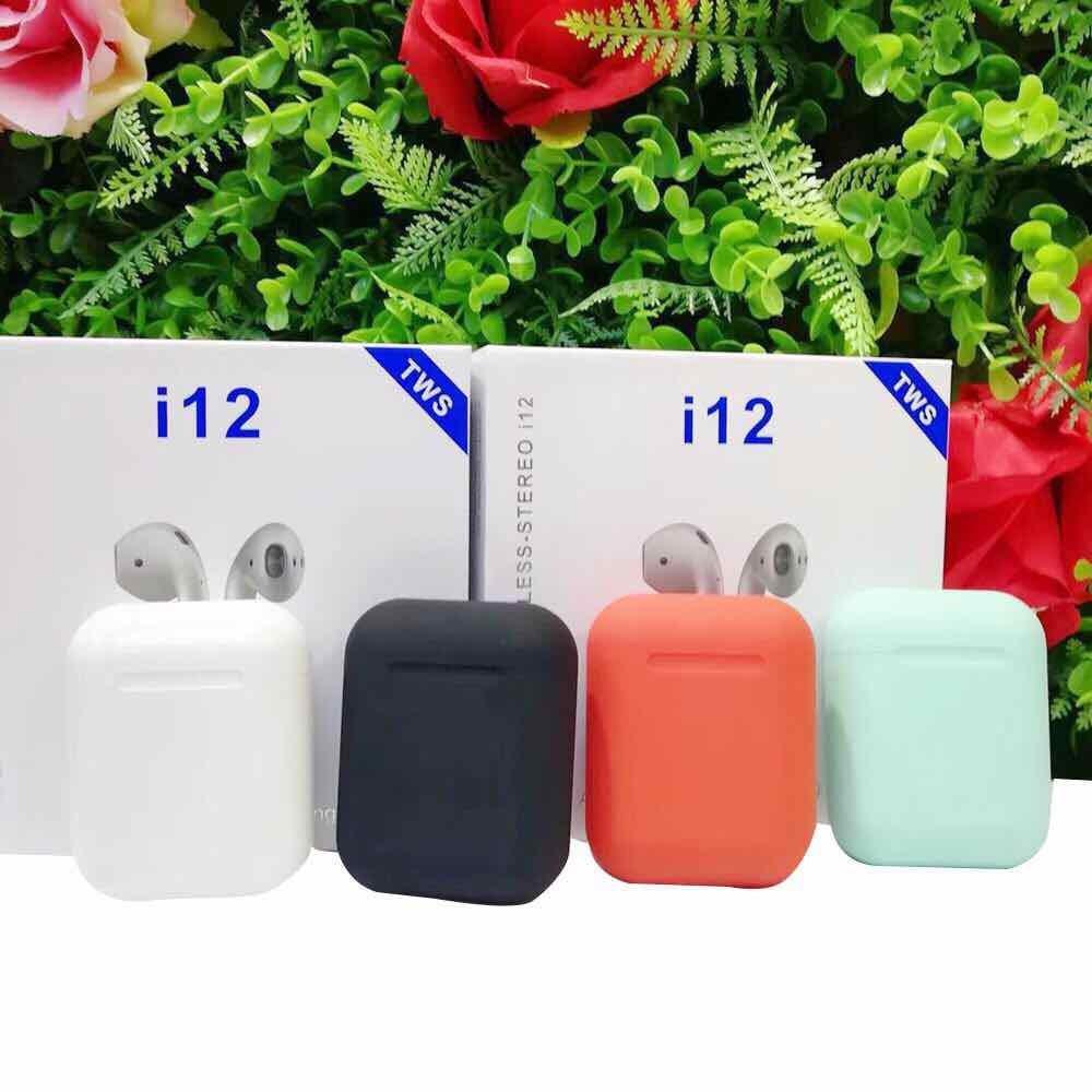 Tai Nghe Bluetooth mini i12 TWS Cảm Biến Vân Tay - Bảo Hành 6 Tháng