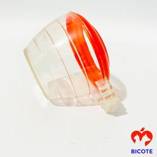 Cóng chim chào mào chất liệu nhựa mica giá rẻ họa tiết siêu đẹp (1 chiếc) thumbnail