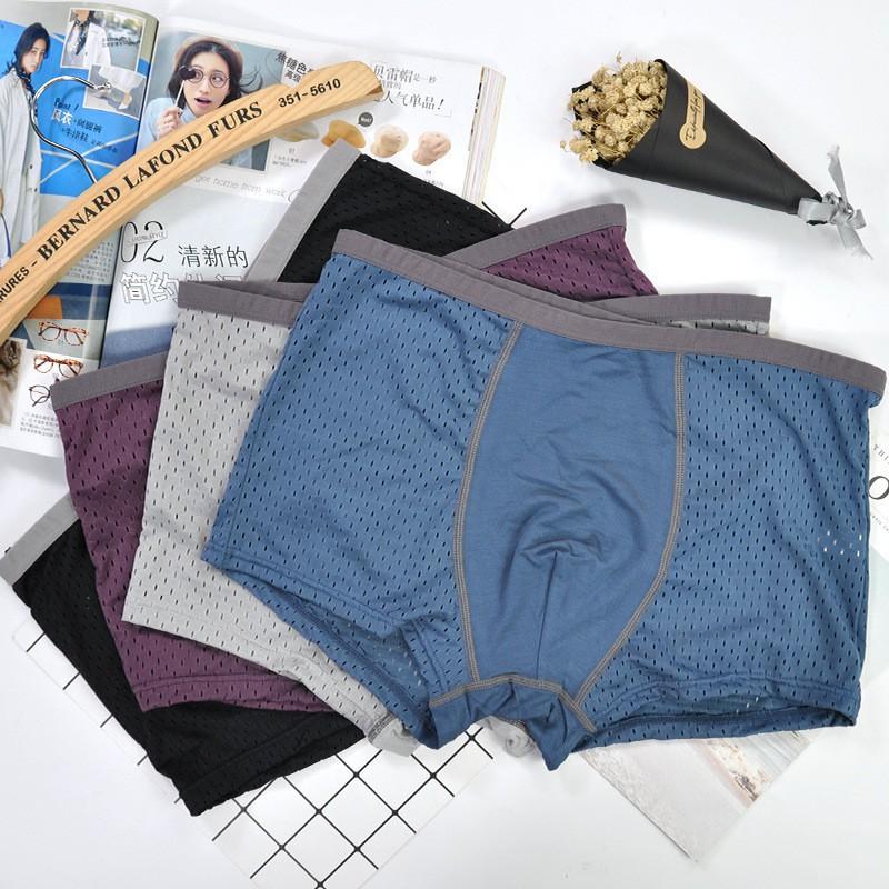 [ Sẵn Số Lượng ] Một quần sịp Men's thông hơi ( chọn màu ) Cao Cấp Hàng Chuẩn