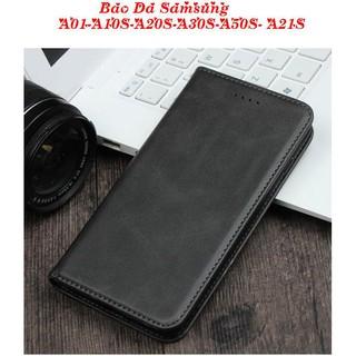 Bao Da Samsung A01-A10S-A20S-A30S-A50S- A21S- ( Có Ngăn Để Tiền, Thẻ).