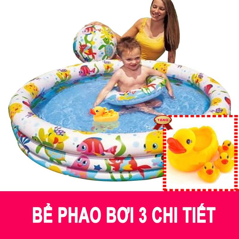 Bể phao bơi intex 3 chi tiết tặng 1 bộ vịt thả bồn tắm bé yêu - 9948036 , 1167264164 , 322_1167264164 , 220000 , Be-phao-boi-intex-3-chi-tiet-tang-1-bo-vit-tha-bon-tam-be-yeu-322_1167264164 , shopee.vn , Bể phao bơi intex 3 chi tiết tặng 1 bộ vịt thả bồn tắm bé yêu