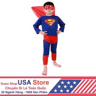 FreeShip150k_ Quần Áo Superman Cho Bé