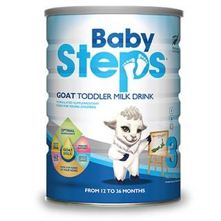 [Mã FMCGM100 - 12% đơn 500K] Sữa Dê Công thức Baby Steps Số 3 Goat Toddler Milk Drink 900gr thumbnail