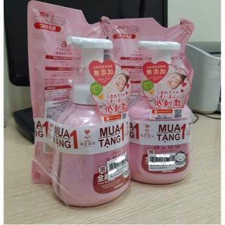 Sữa Tắm Arau Baby 850ml thành phần tự nhiên mới 100% chai 450ml/ túi 400ml