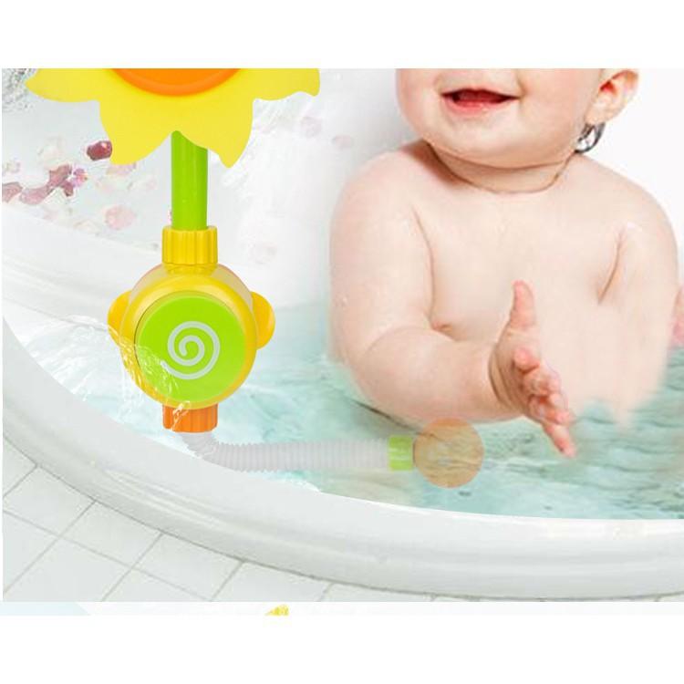 Đồ chơi nhà tắm_Vòi sen tắm hoa hướng dương cho bé_TalentKids