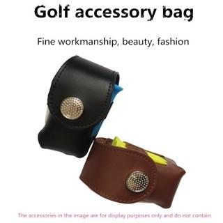 Túi da đựng bóng golf và pin để đánh bóng treo có thể treo thắt lưng tiện lợi với nhiều màu sắc thanh lịch để lựa chọn