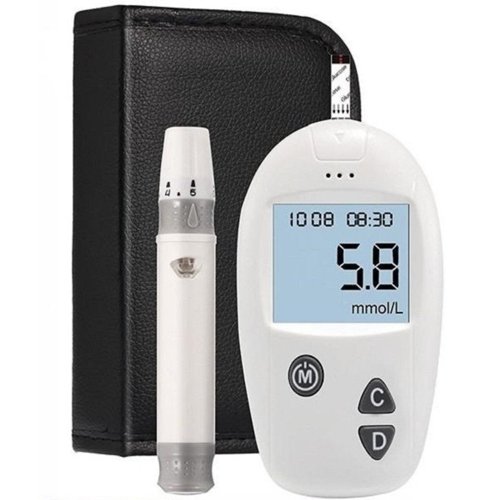 Máy đo đường huyết Safe Accu - Sinocare Đức