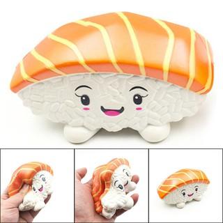Đồ chơi giảm căng thẳng hình miếng sushi đáng yêu 14cm |Loamini565