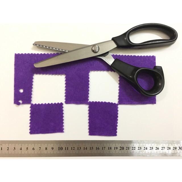 Kéo cắt viền răng cưa/lượn sóng (cắt được vải)