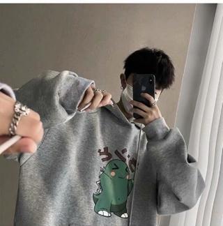 Áo Hoodie Tay Dài Thời Trang Harajuku 2020 Cho Nam