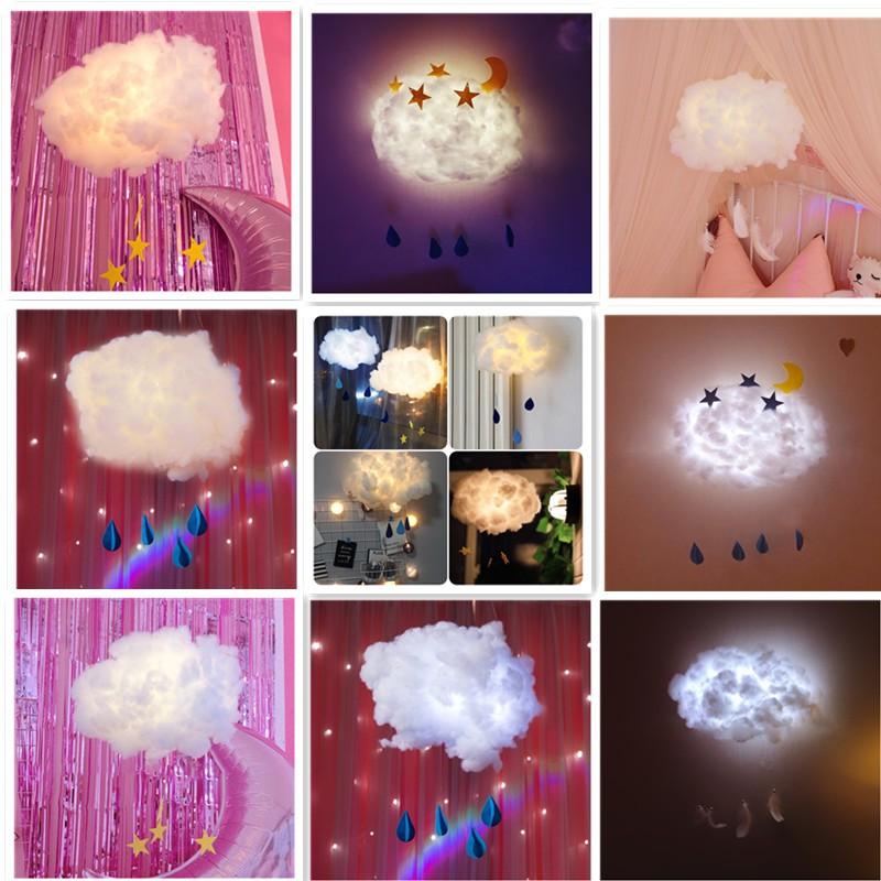 Đèn ngủ hình đám mây dễ thương tự làm