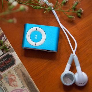 Máy nghe nhạc MP3 mini vỏ nhôm ( kèm : cáp + tai nghe )