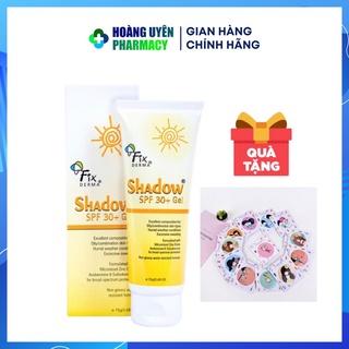Gel chống nắng Fixderma Shadow 30+ - Tube 75gr (Fix derma) thumbnail