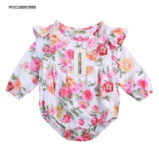 ☀UniCute Newborn Infant Baby Girls Romper Outfits Bodysuit Jumpsuit Todler Clothes