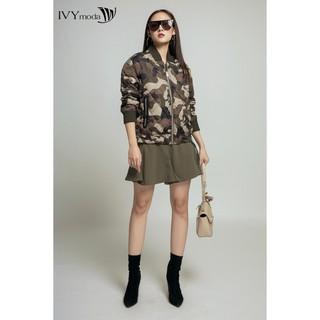 Áo khoác nữ họa tiết IVY moda MS 70B5233 thumbnail