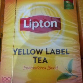 Trà túi lọc lipton 100 gói 200g