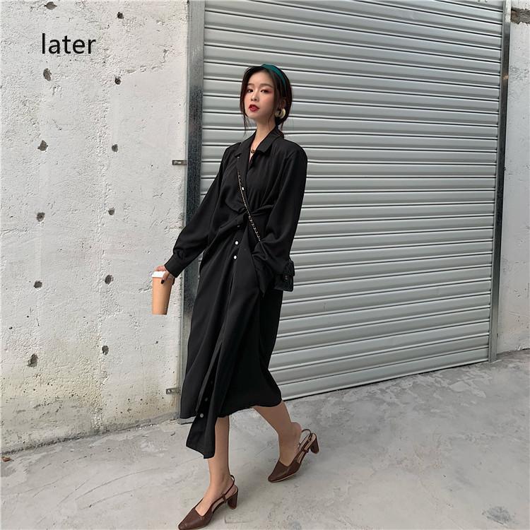 เดรสสั้น เกาหลี กางเกงลำลองสตรี กระโปรงเอวสูง
