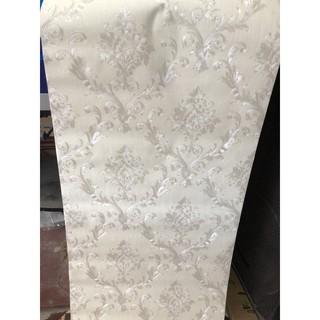 Combo 10 cuộn giấy dán tường thô lụa dán keo sữa+4 keo +dụng cụ