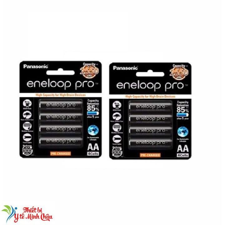 Combo 8 viên pin sạc AA Panasonic Eneloop  2550Mah