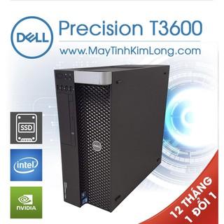 Xác Case Máy Trạm Dell Precision T3600 - Tặng Windows B.Q - Likenew 96%