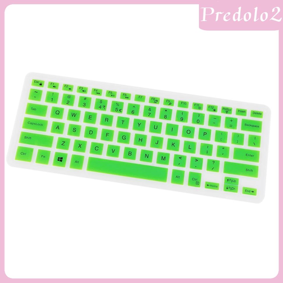 """Miếng Dán Silicon Bảo Vệ Bàn Phím Cho Laptop Dell 14cr 14 """""""