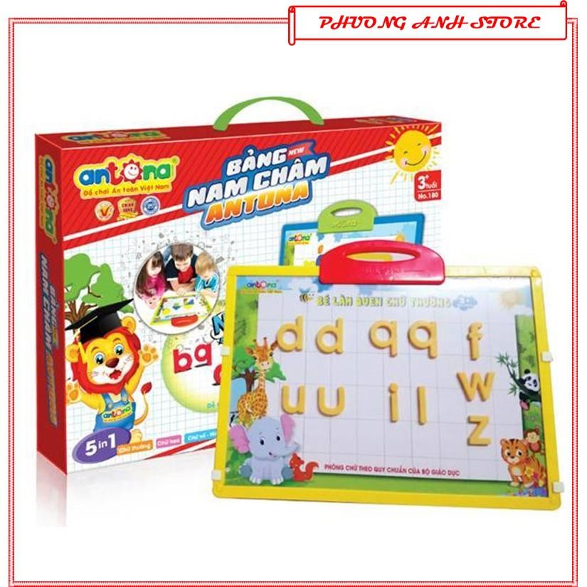Đồ chơi thông minh cho bé trai,gái BẢNG NAM CHÂM 5 IN 1💛HÀNG VN💛chữ cái tiếng việt,anh,chữ số,bảng vẽ giáo dục trẻ em
