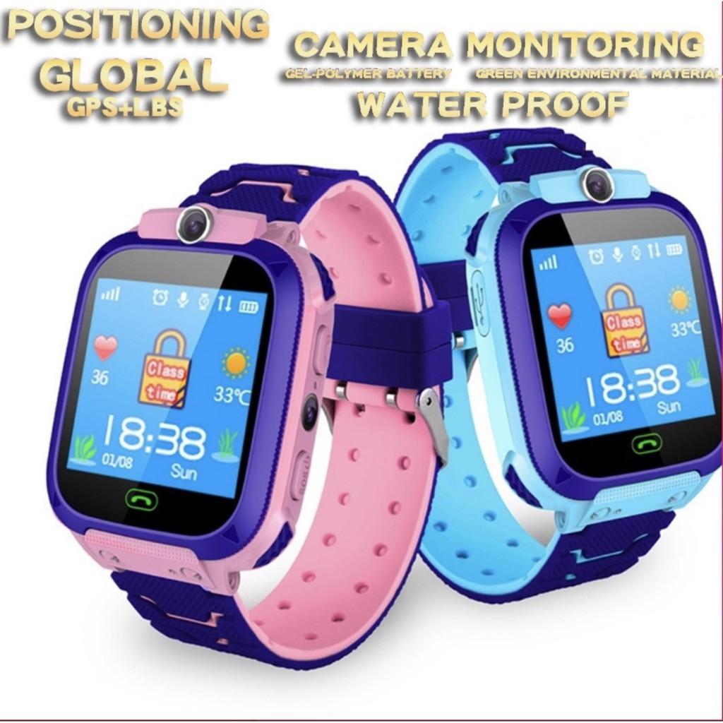 Mới 2020- Xạc nam châm) Đồng hồ thông minh trẻ em Q18 lắp Sim nghe gọi định  vị (BH 6 tháng) - Đồng Hồ Thông Minh Thương hiệu No Brand