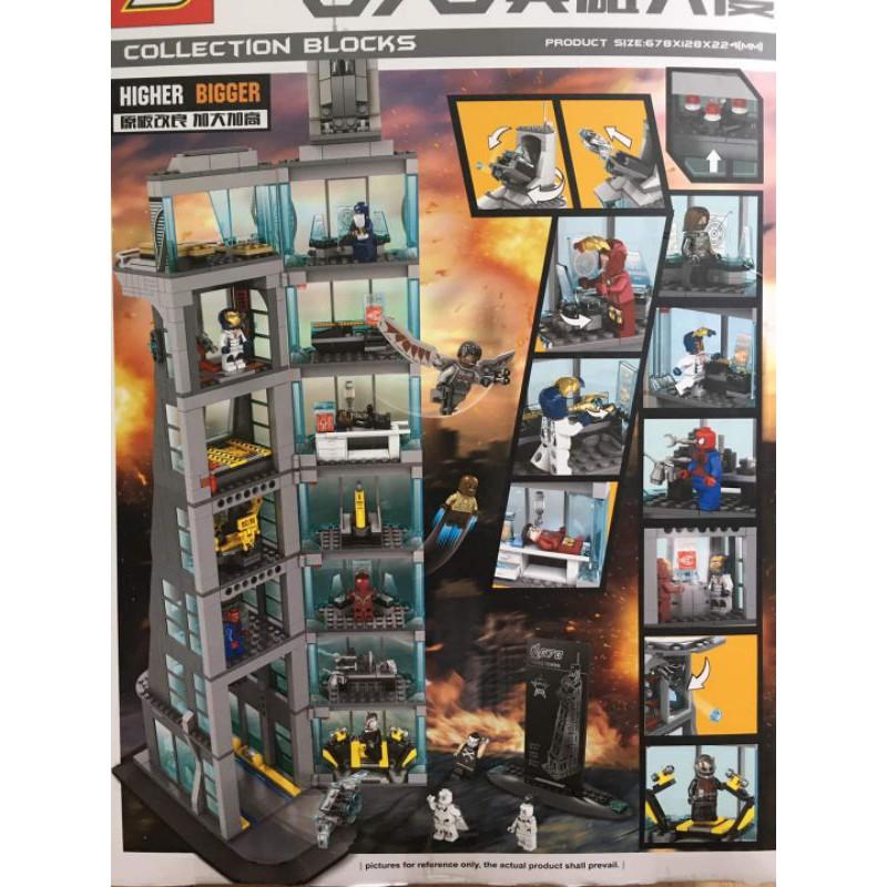 lego xếp hình tòa tháp cuti1008