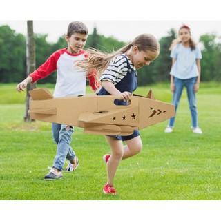 Đồ chơi nhà bìa carton mô hình máy bay