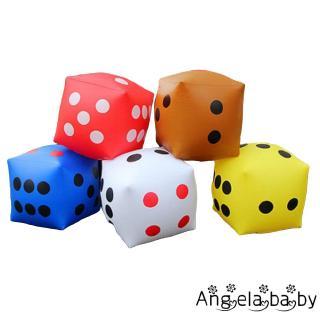 ⓗღ✯Funny Portable PVC Dice Toy Inflatable dice activity atmosphere props Parent-child game toys