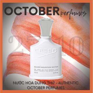 27_October Mẫu thử nước hoa Creed Silver Moutain Water Tester 5 10ml thumbnail