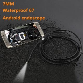 Camera nội soi chống nước IP67 dùng cho điện thoại máy tính dài 2m