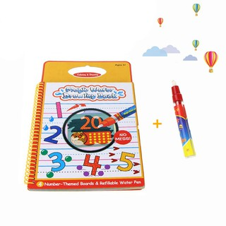 Number Magic Water Drawing Book Kids Painting Toys Water Book Gift Toys For Children