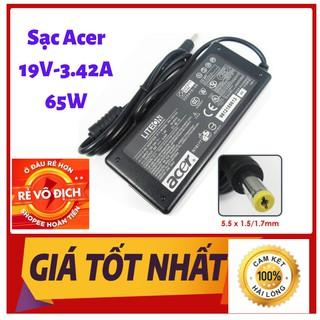 Sạc Laptop ACER 19V – 3.42A – 65W Chính Hãng Kèm Dây Nguồn ( Adapter Acer 19V-3.42A-65W)