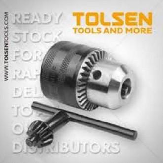 ĐẦU KẸP MŨI KHOAN : 1.5 - 10mm/1.5 - 13mm TOLSEN 79060/79161