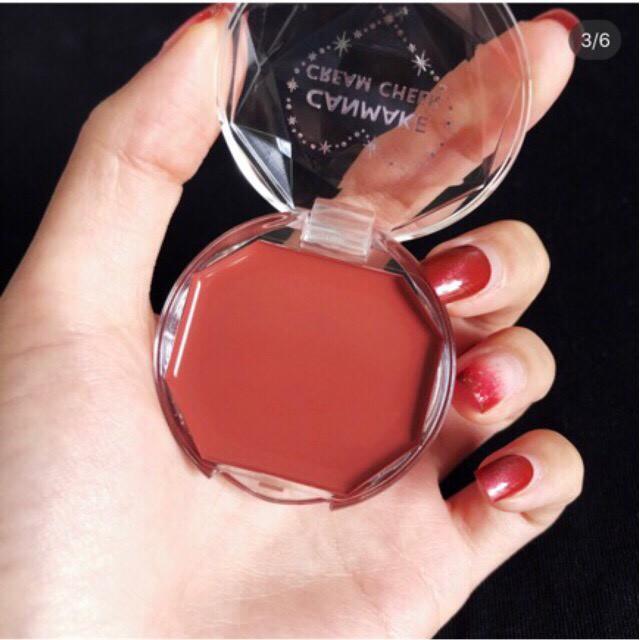 [ME cosmetics] Má hồng Canmake Cream Cheek màu #16