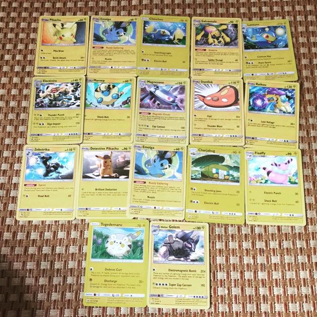 Bài Pokemon Hệ Điện – 15 con