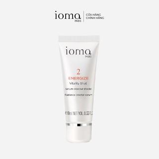 Serum chống lão hóa, tái tạo làn da Ioma Paris Vitality Shot - 10ml thumbnail