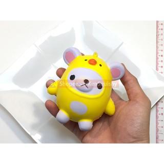 Squishy Gấu Gà Cute