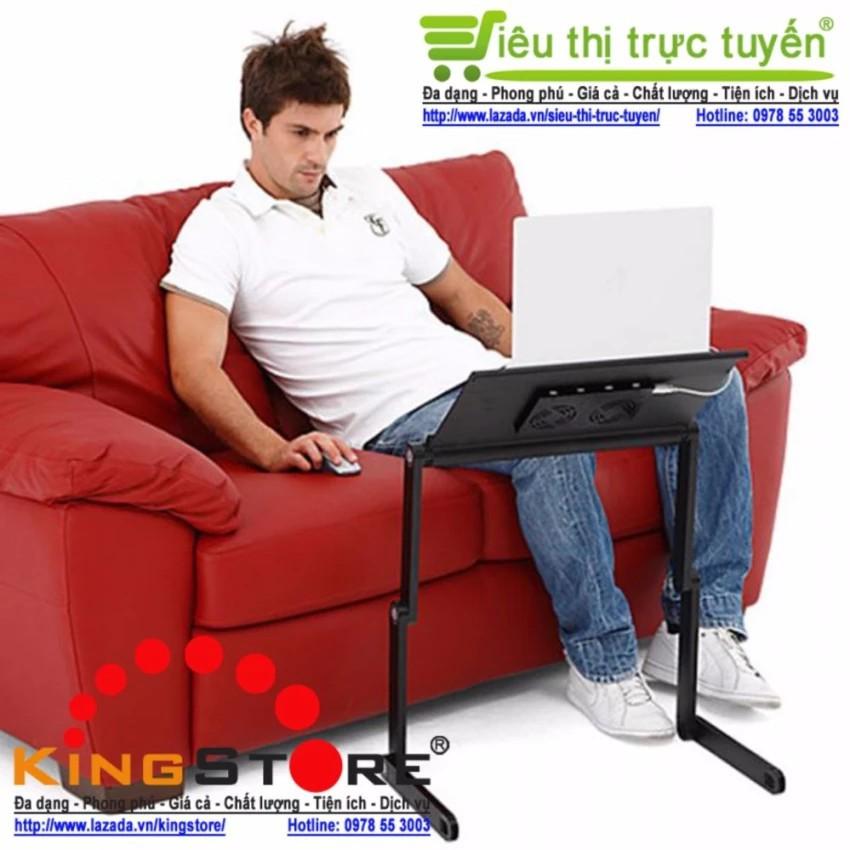 ( GIÁ RẺ ) Bàn để Laptop tùy chỉnh đa năng gấp và xoay 360 độ
