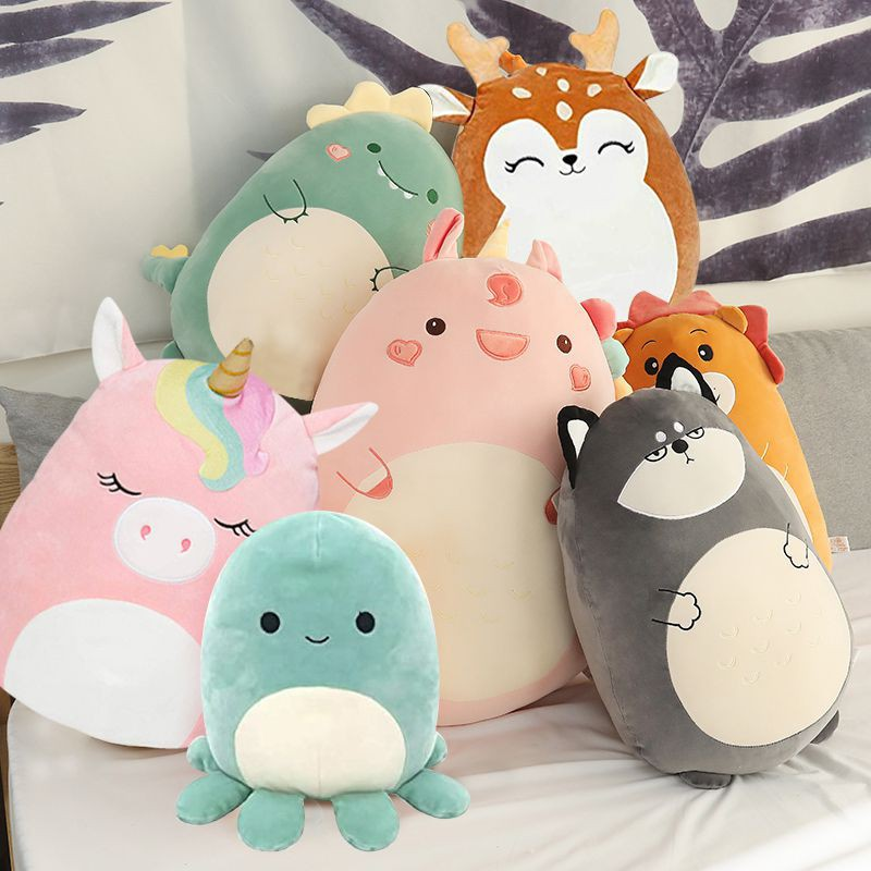 Squishmallows Stuffed Toy Doll Plush Cushion Pillow Soft Dinosaur Unic