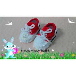 Giày len cho bé M234 – baby shoes /sandals crochet