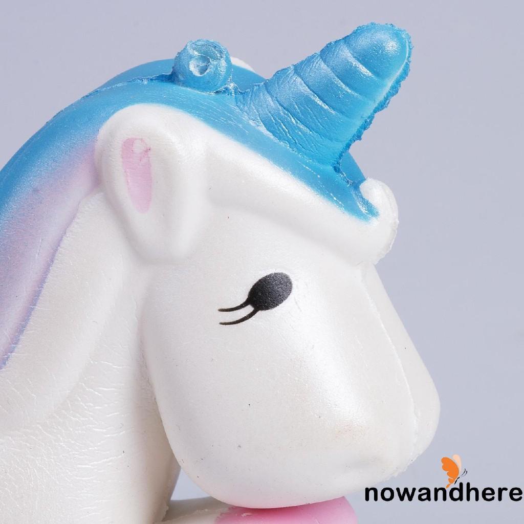 Đồ chơi bóp Squishy hình ngựa một sừng dễ thương -3715
