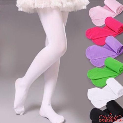 Vớ quần múa ba lê màu sắc kẹo ngọt cho bé