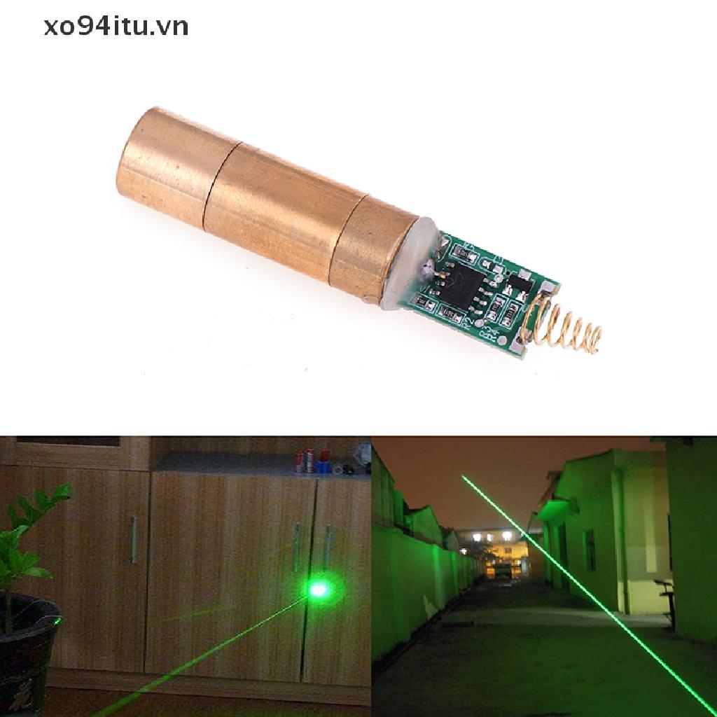 XOITU 532nm 30~50mW green Spot laser module laser diode light free driver .
