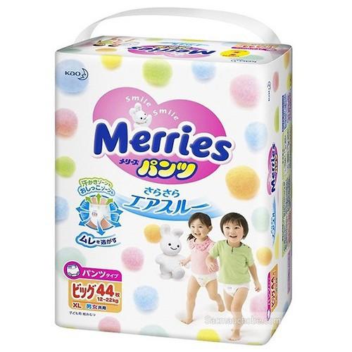 Bỉm quần Merries XL44 nội địa Nhật