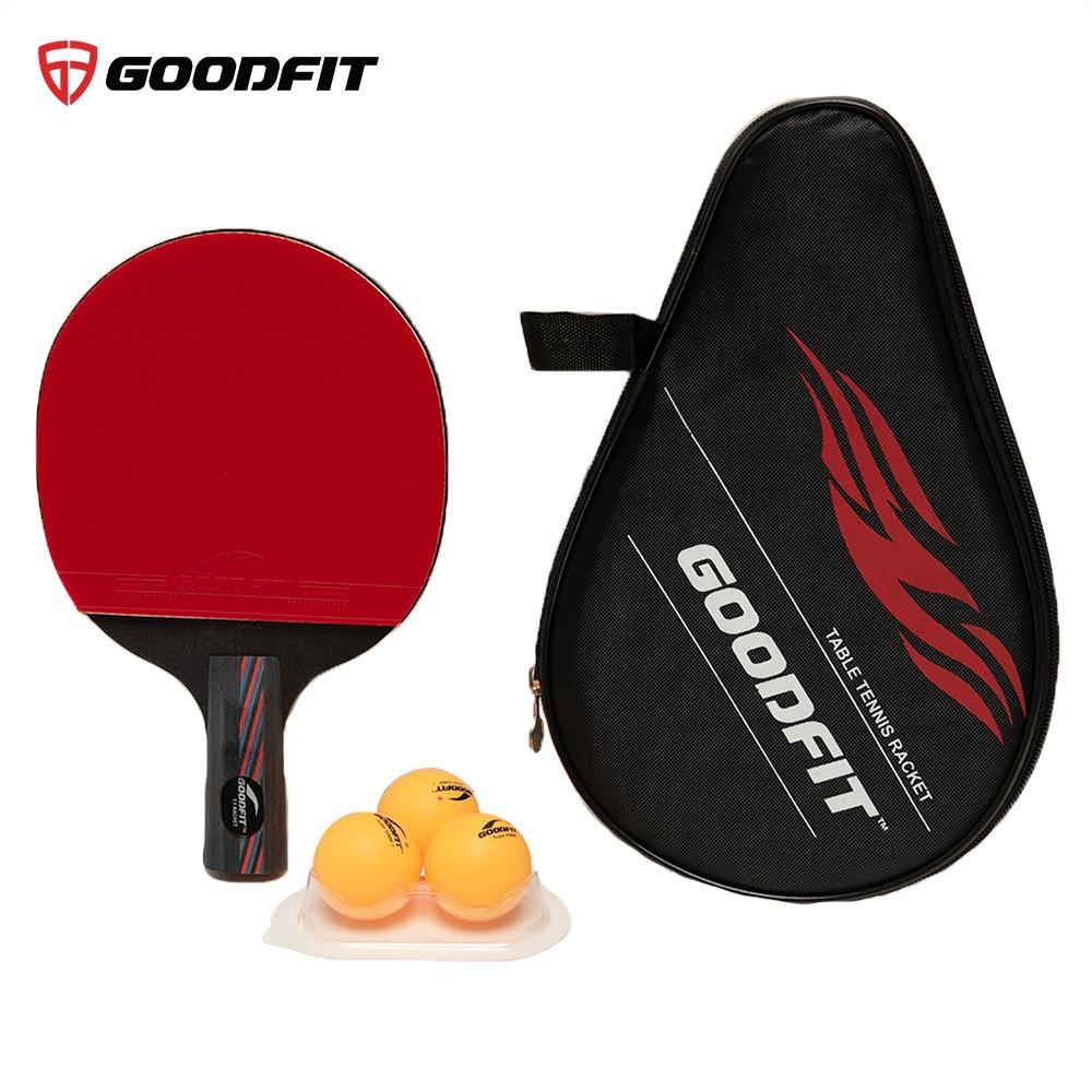 Vợt bóng bàn tặng kèm 3 bóng GoodFit GF002TR
