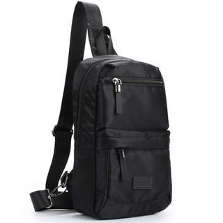 Túi Đeo Trước Ngực Thời Trang BA405 (đen – xanh dương)